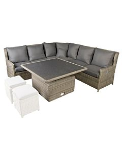 Bardani Amarillo Relax loungeset new white grey