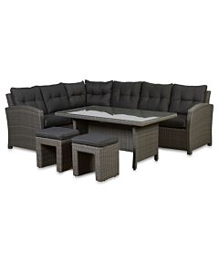 Bardani Aruba loungeset blended grey