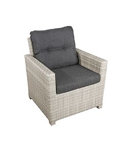 Bardani Florida loungestoel misty grey