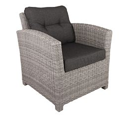 Bardani Aruba loungestoel blended grey