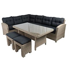 Bardani Bonaire loungeset mexican sand